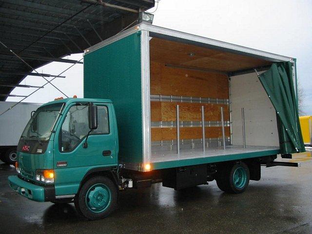 Curtain Sider Truck Bodies Custom Truck Bodies Collins
