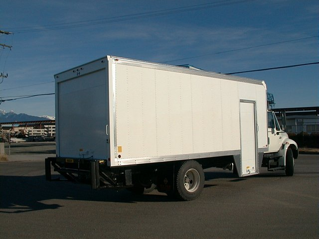 Dry Freight Truck Amp Van Bodies Custom Truck Bodies