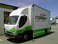 Canada's 1st Electric commercial trucks