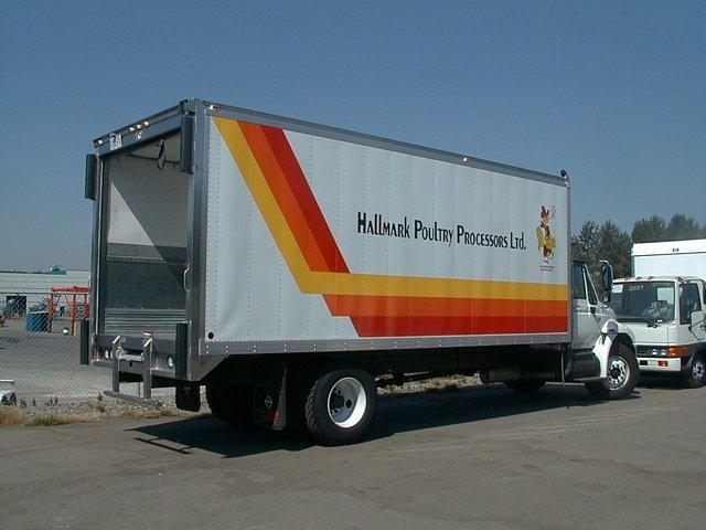 Insulated Truck & Van Bodies - Custom Truck Bodies - Collins